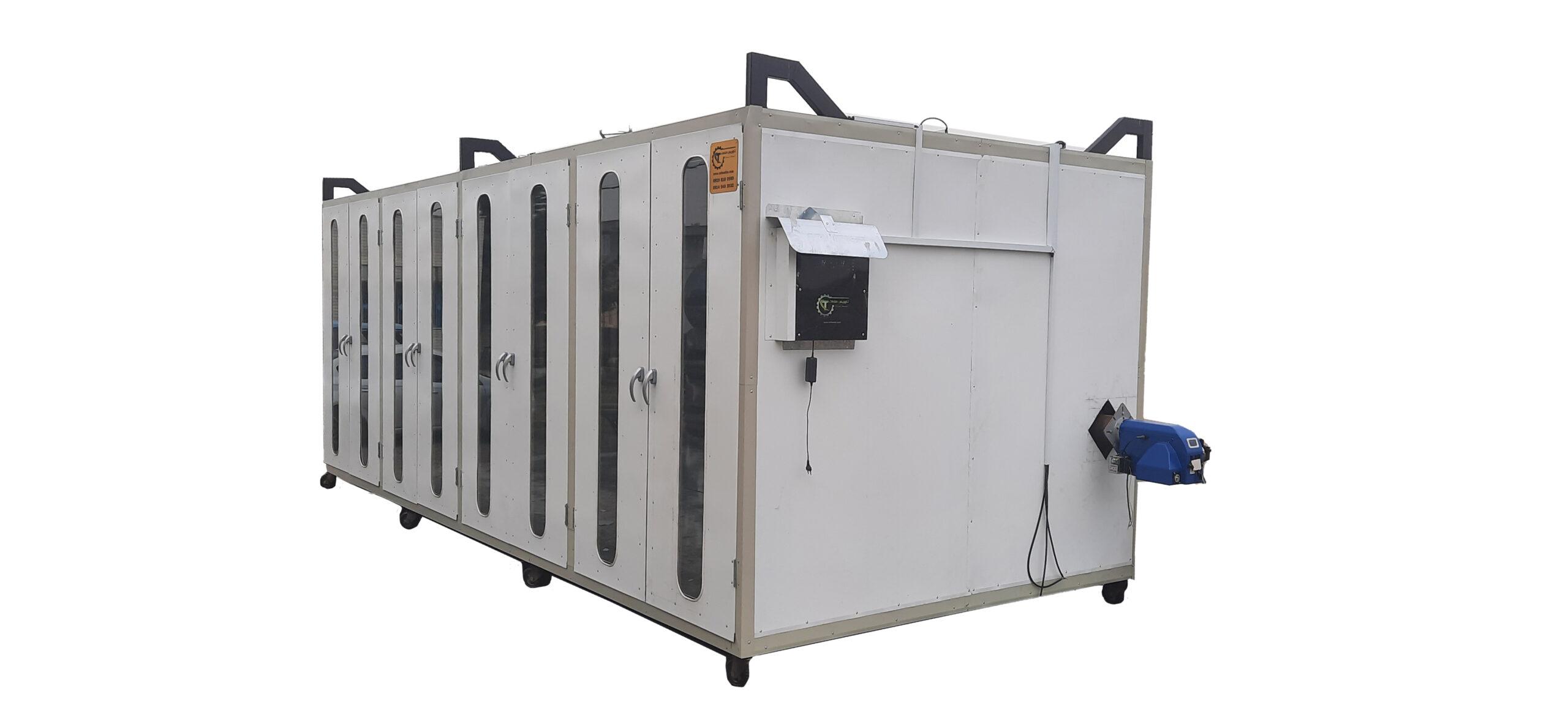 دستگاه خشک کن گازی و برقی